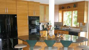 Cabinet Refacing Delaware Green Kitchen With Bamboo Reface Bamboo And Eco Resin Doors
