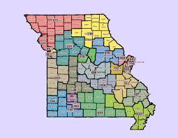 St Louis Mo Map Missouri U0027s New Congressional District Maps