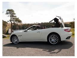 maserati convertible 2 seater maserati grancabrio convertible 2010 review auto trader uk