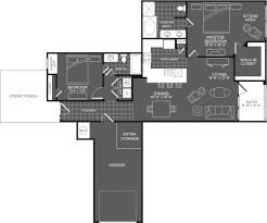 What Is Wh In Floor Plan by 2 Bedroom Apartments In San Antonio The Mansions At Briggs Ranch