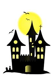 clipart halloween castle