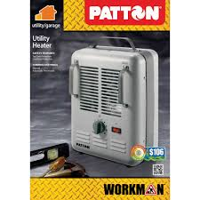 patton utility heater 7 7 10 x 10 3 10 x 14 3 5gray walmart com
