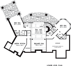 Home Floor Plans With Basement Home Plan The Clubwell Manor By Donald A Gardner Architects