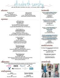 Creative Job Resume by Best 25 Fashion Resume Ideas Only On Pinterest Internship