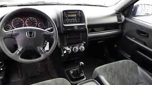 Honda Crv Interior Pictures 2002 Honda Cr V Eternal Blue Pearl Stock 31232a Interior