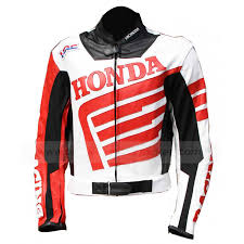 red and black motorcycle jacket honda leather jacket motorcycle wing jacket