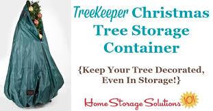 Xmas Tree Storage Container - christmas tree storage container never undecorate your tree again