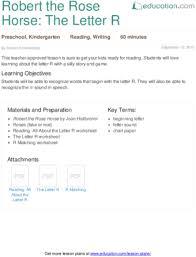 lesson plans for kindergarten reading education com