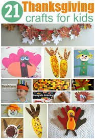 21 easy thanksgiving crafts for