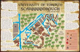 scsu map pirated utsc frosh map tomaps