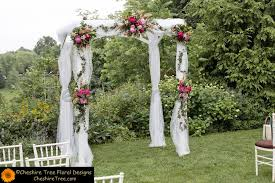 fabric arch with flowers wedding stuff arch