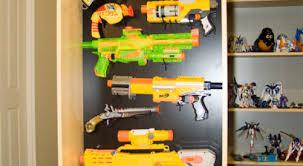 Nerf Gun Rack Designs fossickerbooks