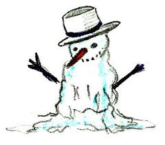 melting snowman clipart many interesting cliparts