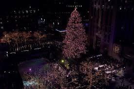 christmas tree in rockefeller center christmas lights decoration