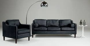 furniture fascinating u shaped black sofa and cushions added by
