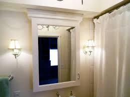 Bathroom Medicine Cabinet Mirrors Bathroom Mirror Medicine Cabinet With Lights Lighting Oval