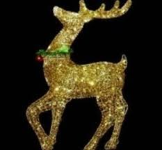 Christmas Decorations Outdoor Reindeer by Outdoor Reindeer Christmas Decorations U2039 Decor Love