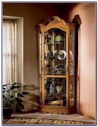 Pulaski Furniture Curio Cabinet by Curio Cabinet Curio Cabinet Pulaski Furniture Regency Platinum