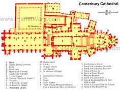 canterbury cathedral floor plan canterbury cathedral favorite places spaces pinterest