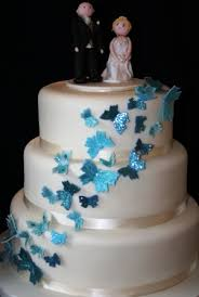 butterfly wedding cake melanie ferris cakes news blue butterfly wedding cake