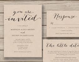 wedding invitation templates etsy wedding invitation template themesflip