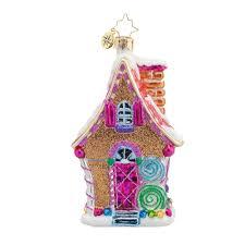 christopher radko ornaments 2016 radko sugary chateau ornament