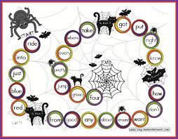 halloween themed game boards make take u0026 teach