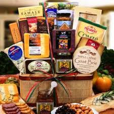 meat and cheese baskets hickory farms deluxe signature beef sausage cheese gift basket