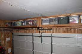 Wooden Storage Shelves Designs by Shelves Over The Garage Door The Cavender Diary