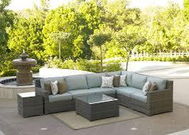 silver coast malibu 4 piece custom outdoor java wicker patio
