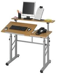 Ergonomic Drafting Table Height Adjustable Split Level Drafting Table The Ergonomic Store