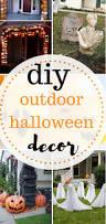 diy outdoor halloween decor moody mooch