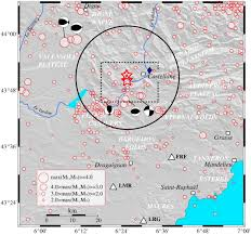 bureau des hypoth ues draguignan hydrological triggering of the seismicity around a salt diapir in