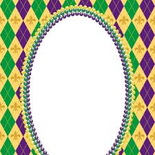 mardi gras frames mardigras dots dd s vinyl designs