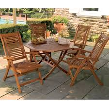 Patio Dining Set Clearance by Lanai Wood Patio Furniture