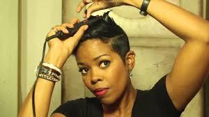 malinda williams u0027 mane taming 11 edgy short hair style in