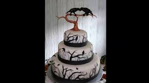 gothic cakes gothic wedding cakes gothic birhday cakes youtube