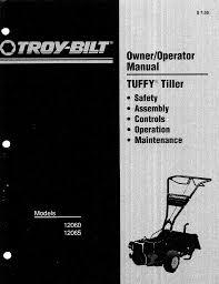 troy bilt tiller 12060 user guide manualsonline com