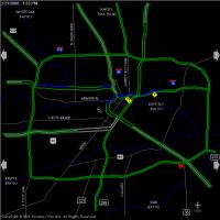 traffic map houston houston transtar traffic map features