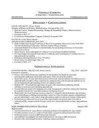 Sample Resume For Job Fair Comp Analyst Resume Sample Entry Level Resume Objective Name Your