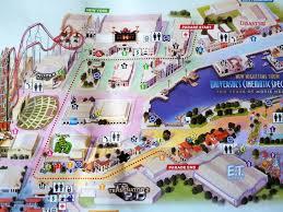 Citywalk Orlando Map Map Of Universal Studios Orlando And Surrounding Hotels