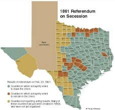 Counties In Texas Map Hipster Texit These Texas Counties Voted For Secession In 1861