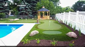 backyard golf ideas home outdoor decoration