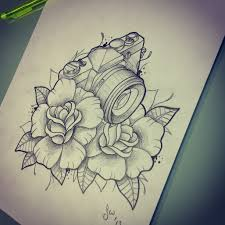 camera tattoo design available for a tattoo all seeing eye