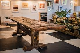 reclaimed trestle dining table reclaimed 100 year old barnwood trestle dining table basemeant wrx