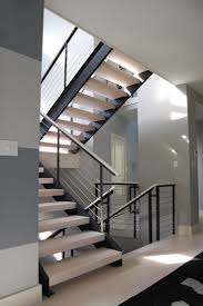 contemporary stair railings interior 10 best ideas about indoor