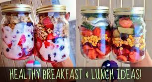 healthy breakfast and lunch ideas for school work