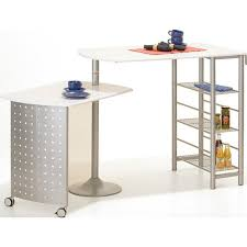 table bar cuisine avec rangement bar de cuisine avec rangement et table d appoint pivotante