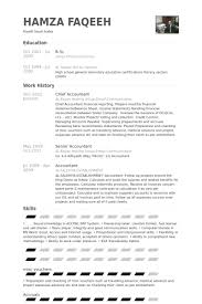 Accounting Resume Examples And Samples by Chief Accountant Resume Samples Visualcv Resume Samples Database