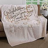 blankets pillows for grandparents personalizationmall
